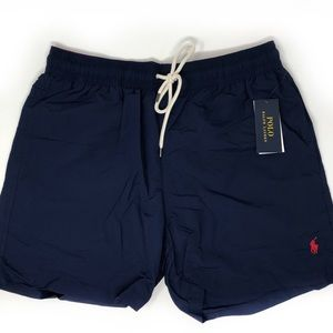 bdf452234d NWT Ralph Lauren Men's Navy Swim Trunks Medium